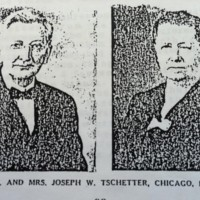 Rev. and Mrs. Joseph W. Tschetter , Chicago, ILL