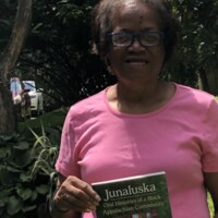Roberta with book